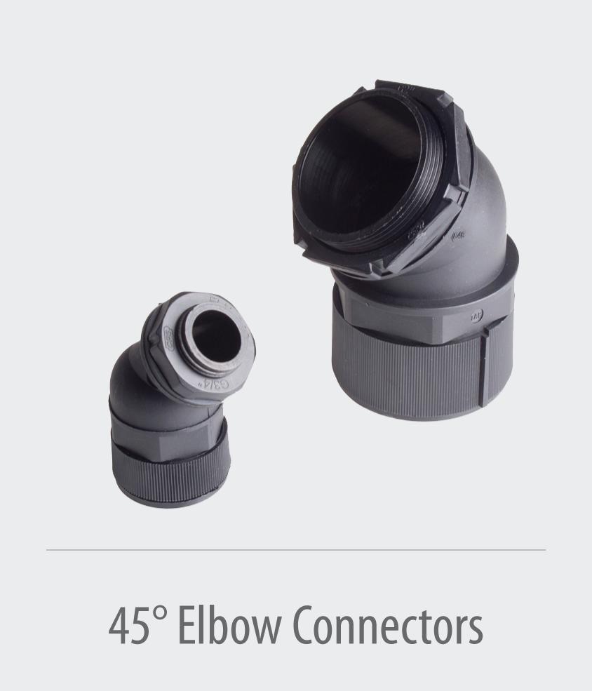 45°-Elbow-Connector