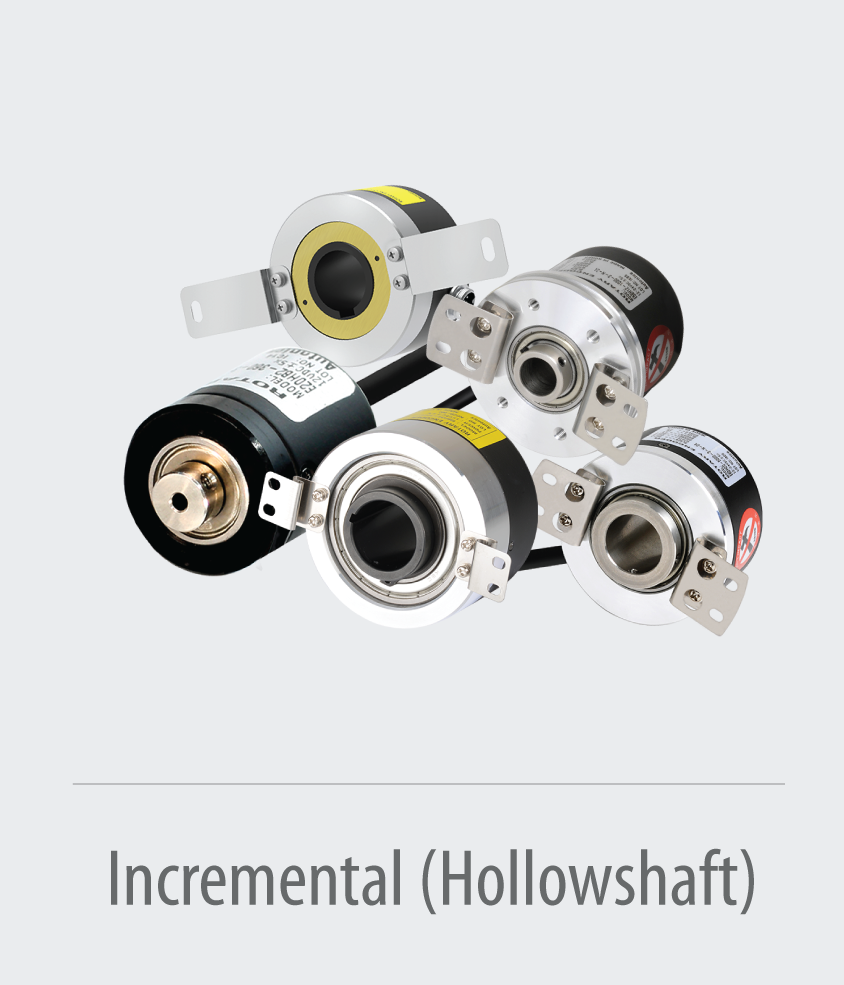 Incremental-Hollowshaft