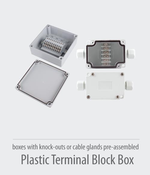 Plastic-Terminal-Block-Box