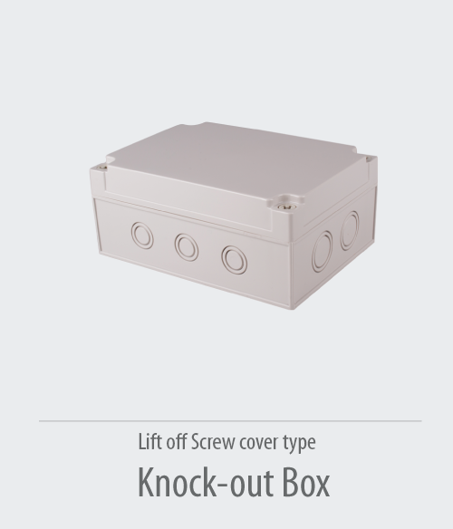 Knock-out-Box